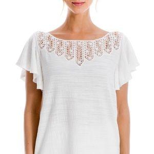 🌟 Plus Size Max Studio Gorgeous Lace Shirt